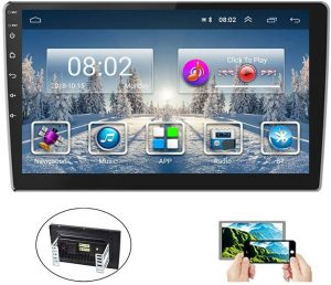 Hikity 10.1 Inch Car Stereo with GPS