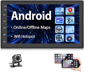 Podofo Double Din Android Car Stereo Radio
